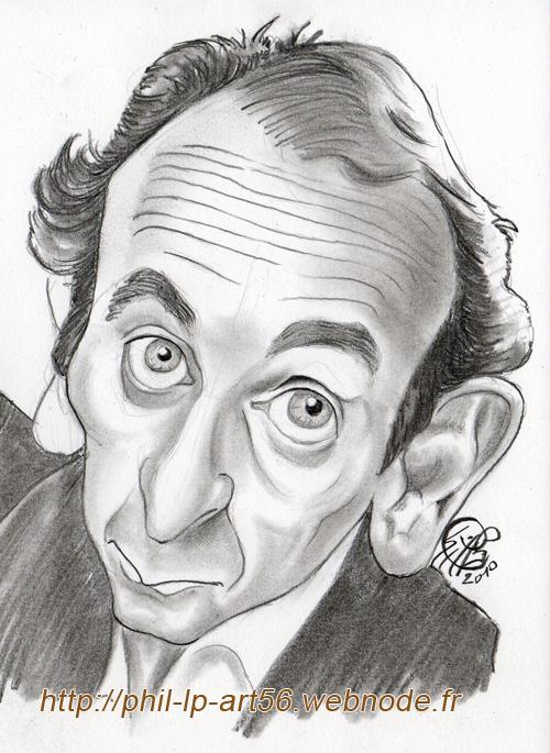 Portrait Of Eric Zemmour By Phillp On Stars Portraits